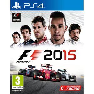 JEU PS4 F1 2015 - Jeu PS4