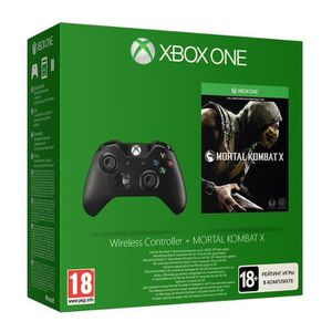 JEU XBOX ONE Pack Mortal Kombat Jeu XBOX One + Manette XBOX One