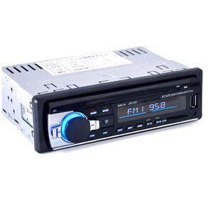 Auna MD-550BT /• Autoradio /• Entr/ées USB /• Mini-SD /• Entr/ée AUX /• Radio FM /• Tuner PLL /• Fonction RDS /• Lecteurs MP3 et CD /• 7 Couleurs d/éclairage /• Bluetooth /• Noir