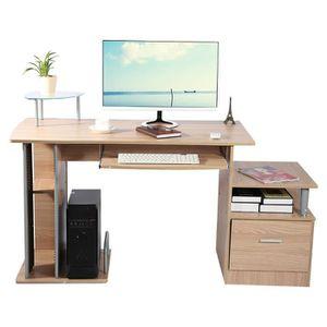 BUREAU  Bureau d'Ordinateur table d'ordinateur avec stocka