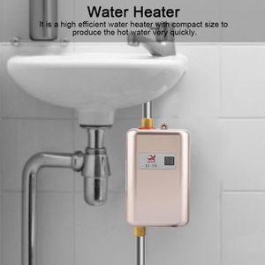 CHAUFFE-EAU 3000W Mini Chauffe-eau instantané électrique sans