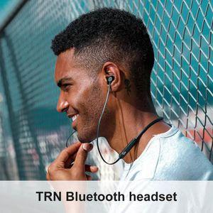 KIT BLUETOOTH TÉLÉPHONE TRN AS10 sans fil Bluetooth 4.2 écouteurs stéréo r