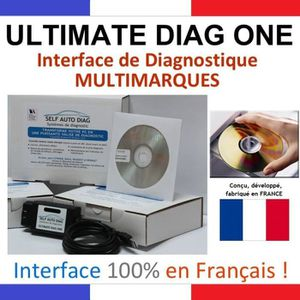 OUTIL DE DIAGNOSTIC ULTIMATE DIAG ONE - Interface de diagnostic MULTIM