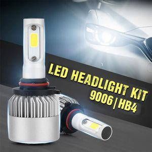 2 X 9006 HB4 HID Ampoule Lampe Xenon Halogene 100W 6000K 12V Blanc Voiture R TOOGOO