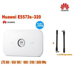 MODEM - ROUTEUR E5573s-320 Plus 2 Pcs Antenne Lte Fdd800-850-900-1