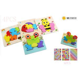 PUZZLE Jouet Bébé - Puzzles en Bois, Jouets Montessori En