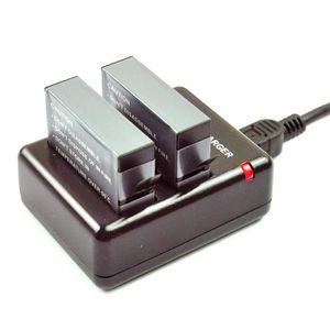 BATTERIE APPAREIL PHOTO dual chargeur  + 2 x Batterie AHDBT401 1160mah pou