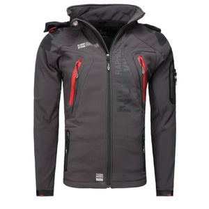 SOFTSHELL DE SPORT Softshell Homme Geographical Norway Taco Gris