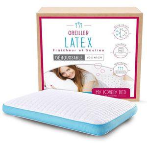 OREILLER My Lovely Bed - Oreiller  Latex 60x40 cm - Soutien