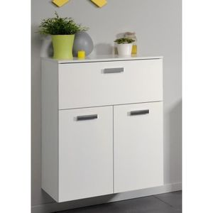 armoire salle de bain blanc brillant achat vente armoire salle de bain blanc brillant pas. Black Bedroom Furniture Sets. Home Design Ideas