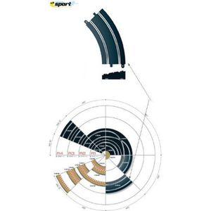 PIÈCE MONDE MINI SCALEXTRIC - C8297 - CIRCUIT - VOITURE - COURBE…