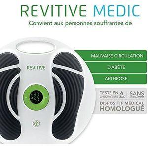 APPAREIL DE MASSAGE  REVITIVE MEDIC Circlulation Booster Soin Corps Sti