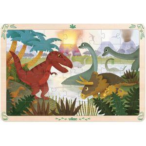 PUZZLE Grand Puzzle 42 pièces les dinosaures - Vilac - ta