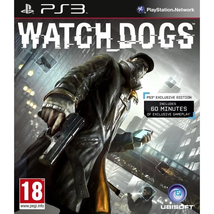 JEU PS3 Watch Dogs Jeu PS3