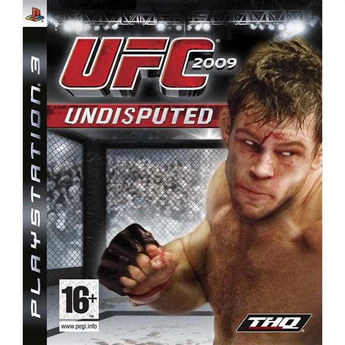 UFC UNDISPUTED 2009 / JEU CONSOLE PS3