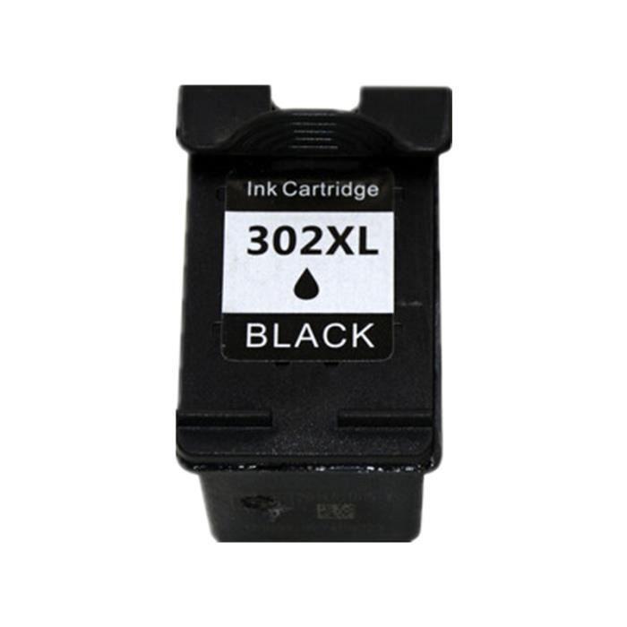 Cartouche d Encre NOIR HP302BK compatible - XL pour HP Envy 4527