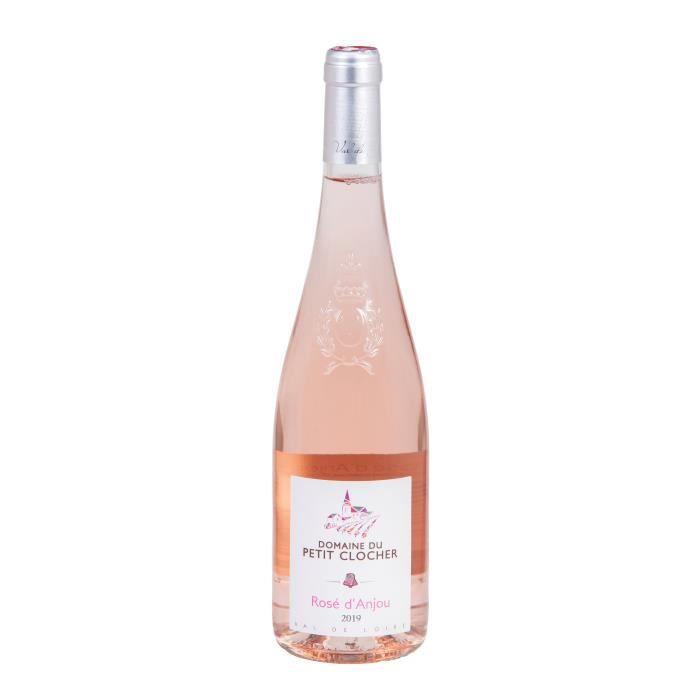Domaine du Petit Clocher Anjou 2019 A.O.C Rosé d'Anjou vin Rosé Vallée de la Loire