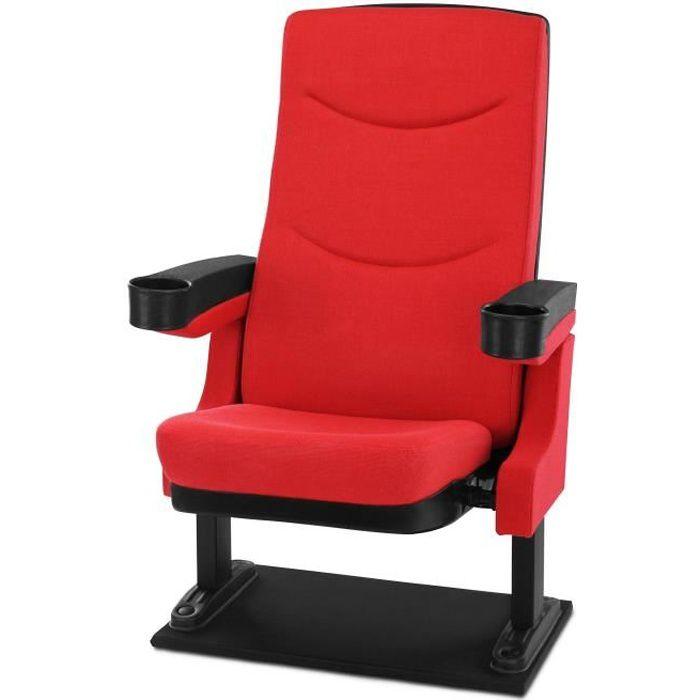 Stagecaptain CS-600R Movieking fauteuil de cinéma rouge