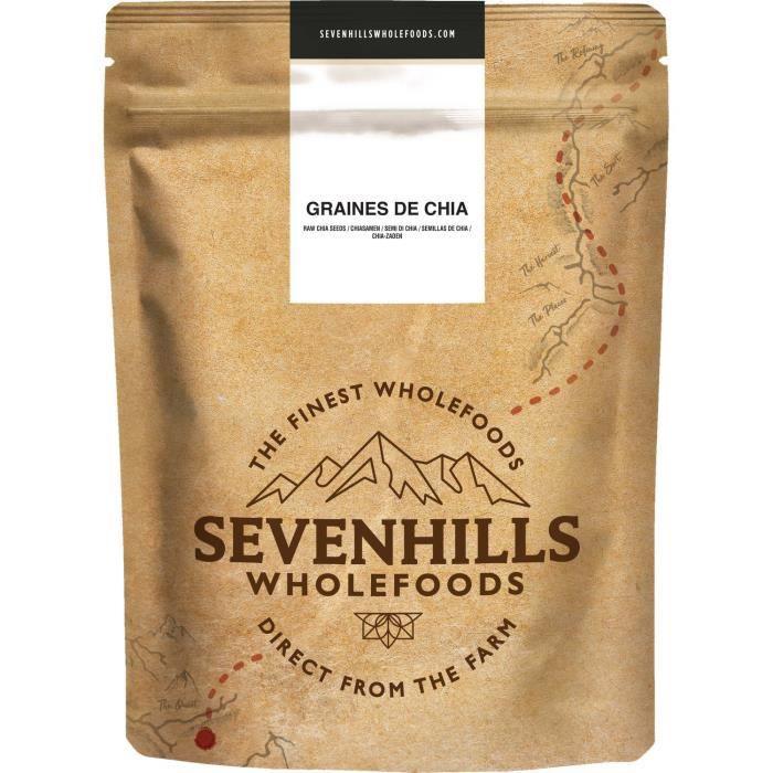 Sevenhills Wholefoods Graines de Chia 2kg