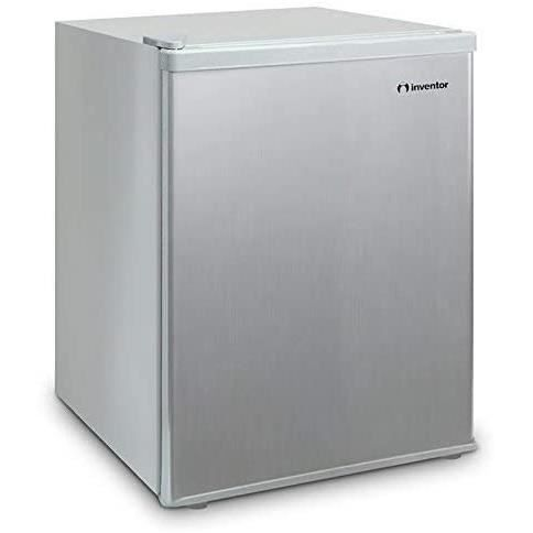 Inventor Mini-Réfrigérateur 66L, Couleur Argent, Classe Énergétique A +, Volume de Stockage 66L, Consommation d'Énergie 109 kWh/an,