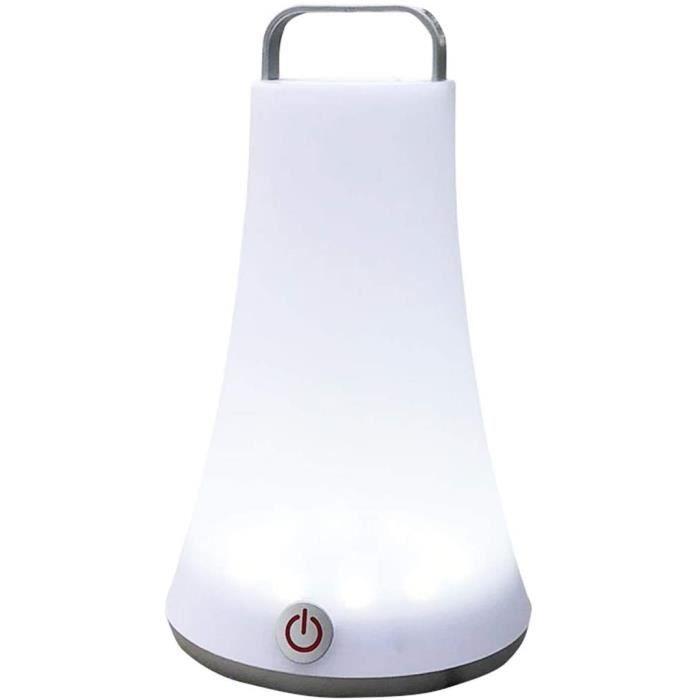 Lampe Solaire Extérieur Lampe touch &agrave poser ou &agrave suspendre sans fil LED blanc dimmable TOBY H23cm441