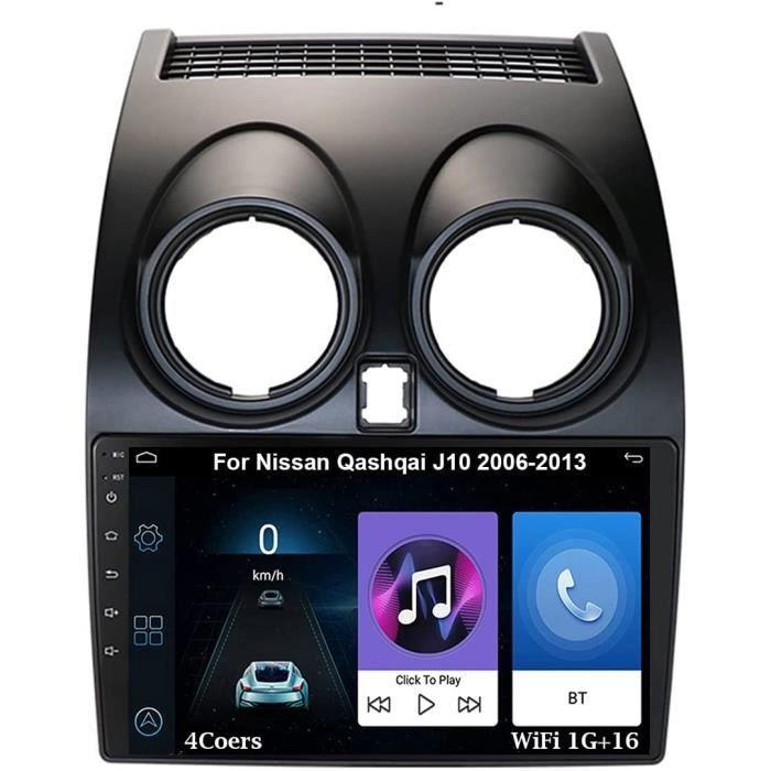 Autoradio 9 Inch Écran Tactile Voiture Multimédia De Navigation GPS Pour Nissan Qashqai J10 2006-2013 Autoradio Voiture Voiture 144