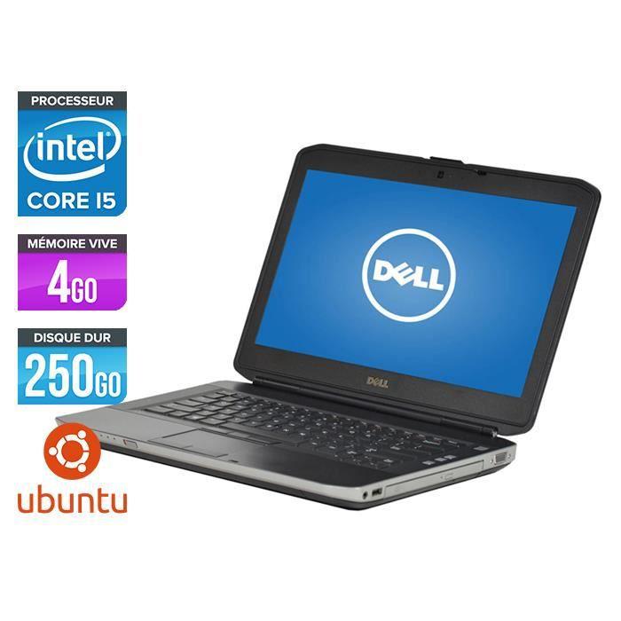 Pc portable Dell E5430 - Core i5-3320M - 4Go - Hdmi - Linux