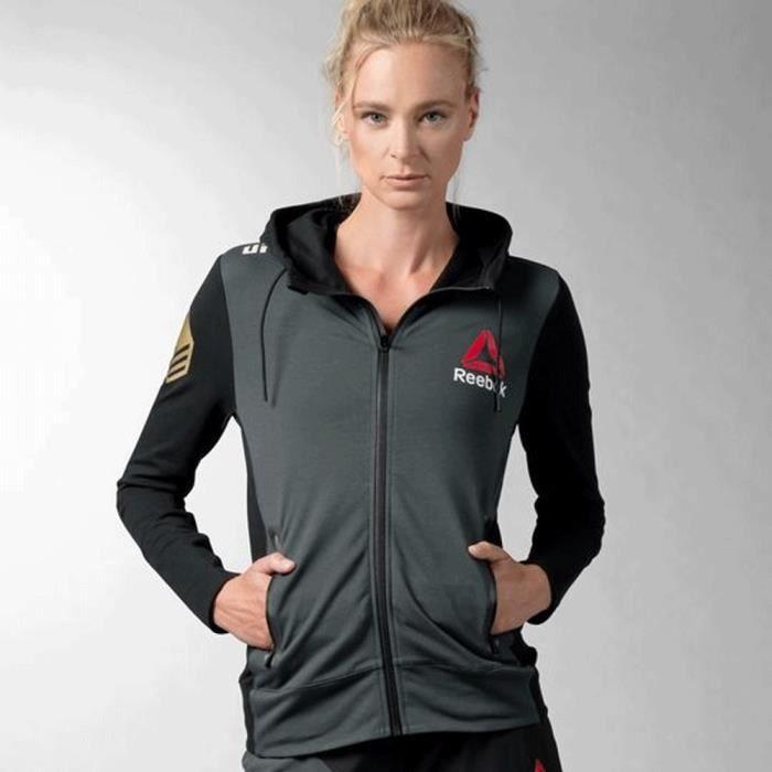 Sweat à capuche Reebok UFC Fight Kit RR Walkout Hoodie W AZ9092