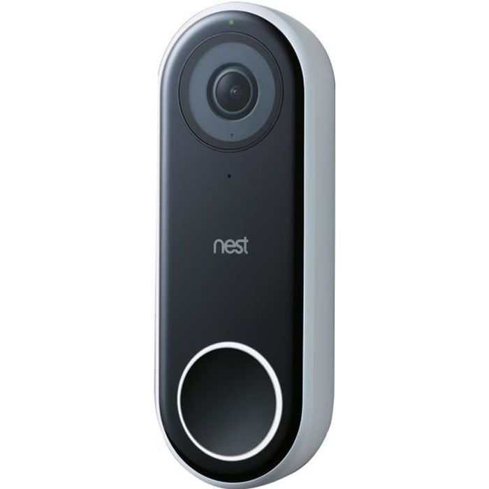 NEST Sonnette video connectée Hello