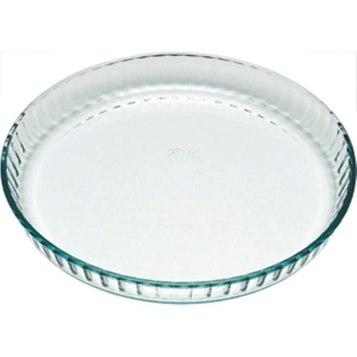 Pyrex 1040902 Moule à Tarte 27 cm: Cuisine & Maison