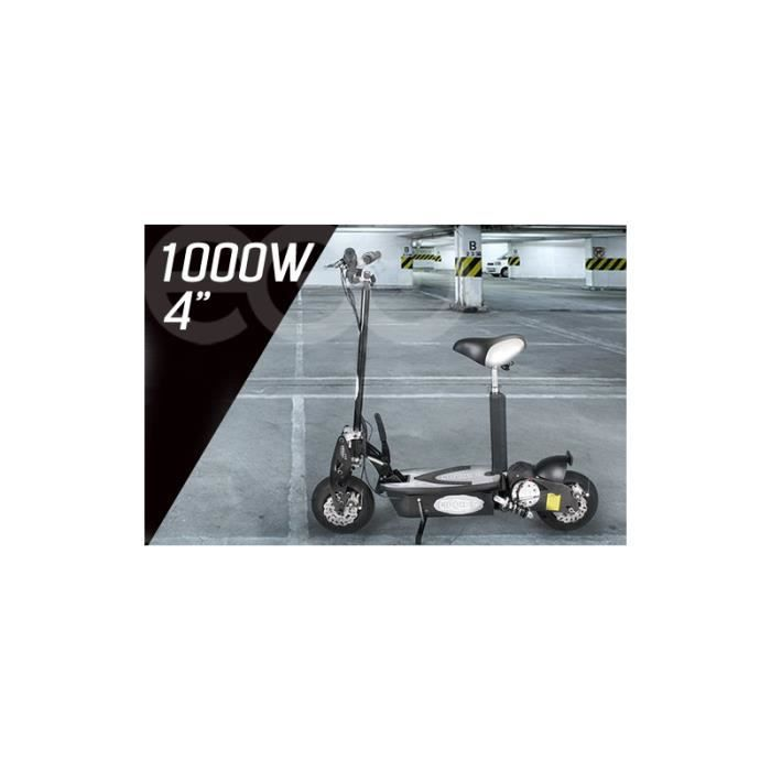 scooter trottinette lectrique e go tornado 1000w achat vente trottinette electrique. Black Bedroom Furniture Sets. Home Design Ideas