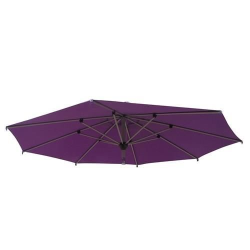 toile de parasol color addict 3m violet achat vente parasol ombrage toile de parasol. Black Bedroom Furniture Sets. Home Design Ideas