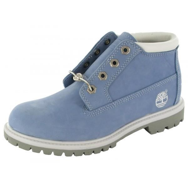 timberland chaussures femme bleu