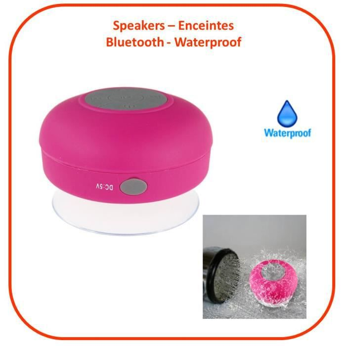 ngi speaker enceinte bluetooth etanche kit main libres. Black Bedroom Furniture Sets. Home Design Ideas