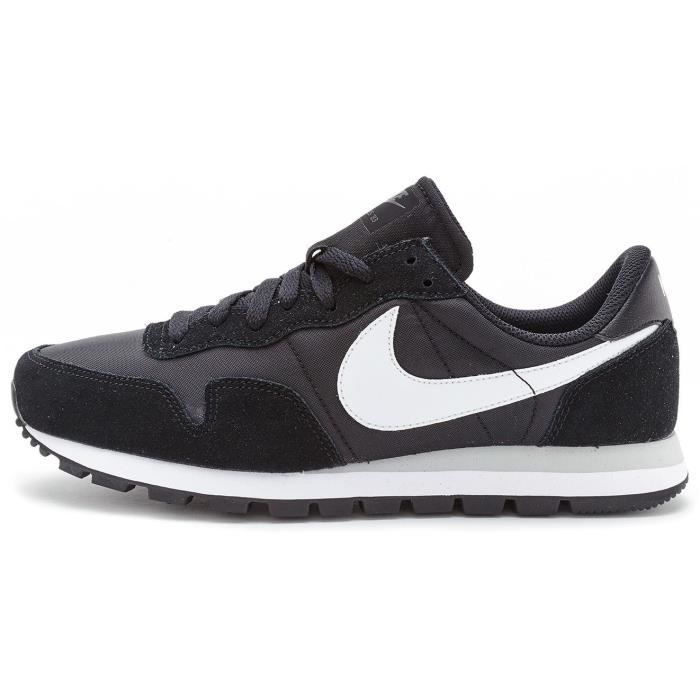 sale retailer 8e1ae 0e465 Baskets Nike Air Pegasus 83 Cuir Chaussures en Noir   Blanc 827921 001  UK  9.5 EU 44.5