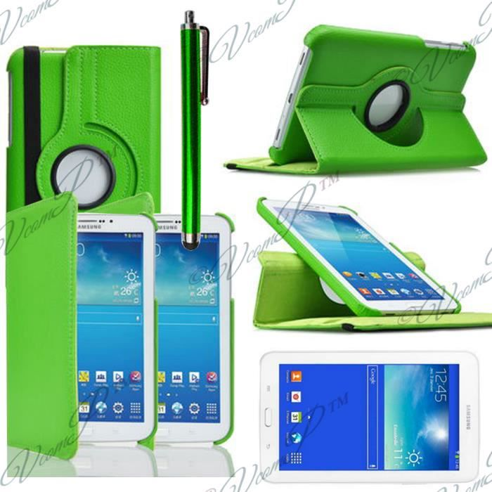 etui rotarif 360 samsung galaxy tab 3 lite 7 0 achat vente etui rotarif 360 samsung g. Black Bedroom Furniture Sets. Home Design Ideas