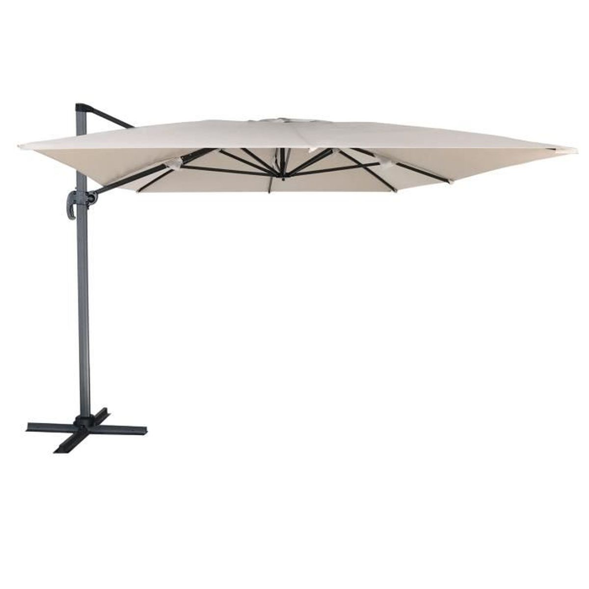 120 parasol rectangulaire parasol rectangulaire 3x2 - Parasol rectangulaire inclinable castorama ...