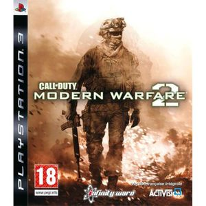 JEU PS3 Call Of Duty Modern Warfare 2 Jeu PS3