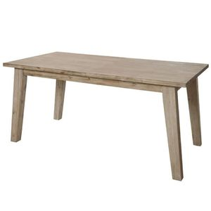 TABLE À MANGER SEULE Fjord - Table 160 cm
