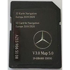 v14 Carte SD GPS Mercedes Garmin Map Pilot Europe 2020 A2189065703 STAR1
