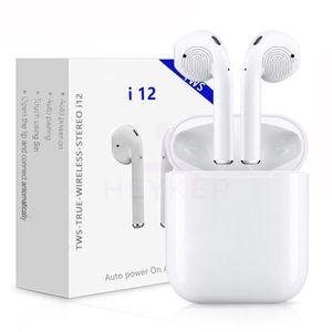 OREILLETTE BLUETOOTH I12 TWS Bluetooth écouteur Contrôle Tactile Mini é