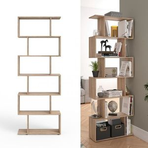 biblioth que achat vente biblioth que pas cher cdiscount. Black Bedroom Furniture Sets. Home Design Ideas