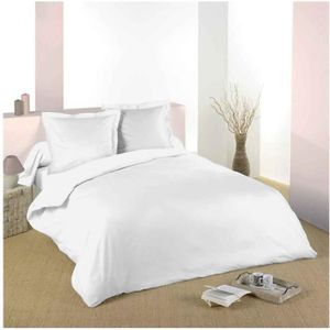 HOUSSE DE COUETTE SEULE Housse de couette Blanc 220 x 240 cm / 100% Coton
