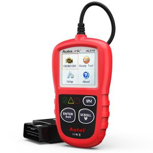 OUTIL DE DIAGNOSTIC Autel AL319 Valise Diagnostic Auto OBD2 Scanner Mu