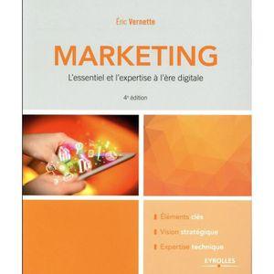 MANUEL UNIVERISTAIRE Livre - le marketing; l'essentiel et l'expertise