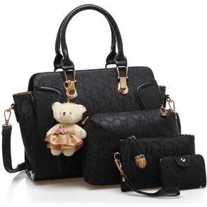 SAC À MAIN Set de sacs noirs - Sac à main + sac à bandoulière