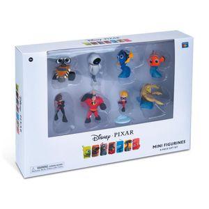 FIGURINE - PERSONNAGE Pixar - Coffret 8 Mini Figurines