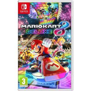 JEU NINTENDO SWITCH Mario Kart 8 Deluxe Jeu Switch + 1 Porte Clé Offer