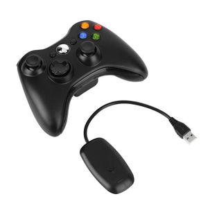 JOYSTICK JEUX VIDÉO Manette Sans Fil Noire Xbox One