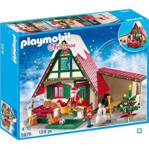 UNIVERS MINIATURE PLAYMOBIL - 5976 - Maisonnette du Père Noël
